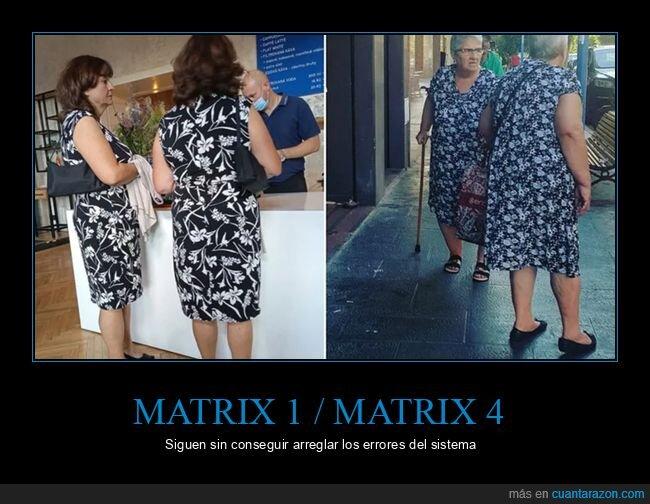 matrix,vestidos