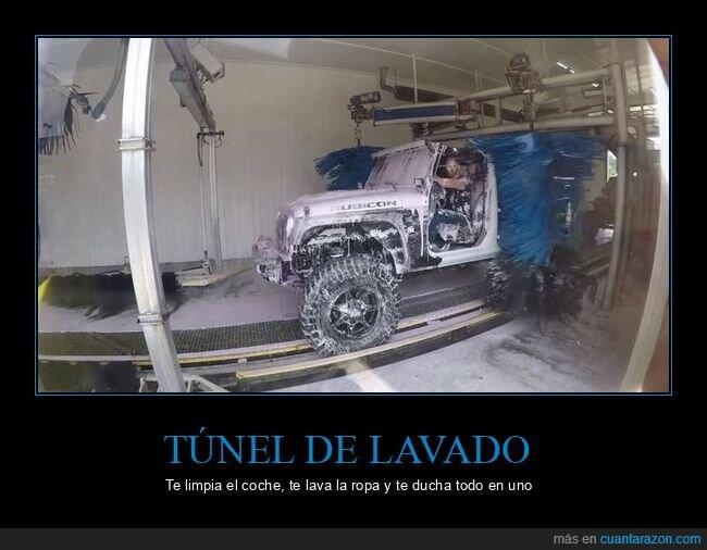 fails,túnel de lavado