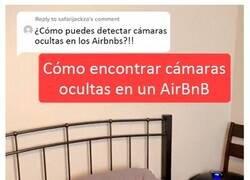 Enlace a Este hombre inspecciona Airbnbs en busca de cámaras ocultas y comparte sus posibles escondites