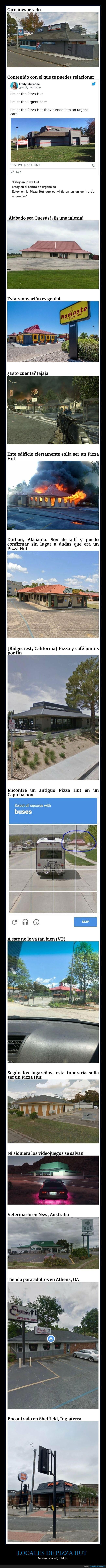 locales,pizza hut,reconvertidos