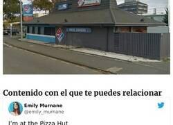 Enlace a Locales de Pizza Hut que terminaron siendo algo distinto
