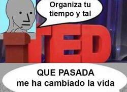 Enlace a Charlas TED resumidas a la perfección