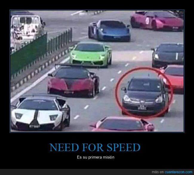 coches,need for speed,primera misión,wtf