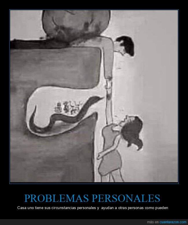 circunstancias personales,problemas