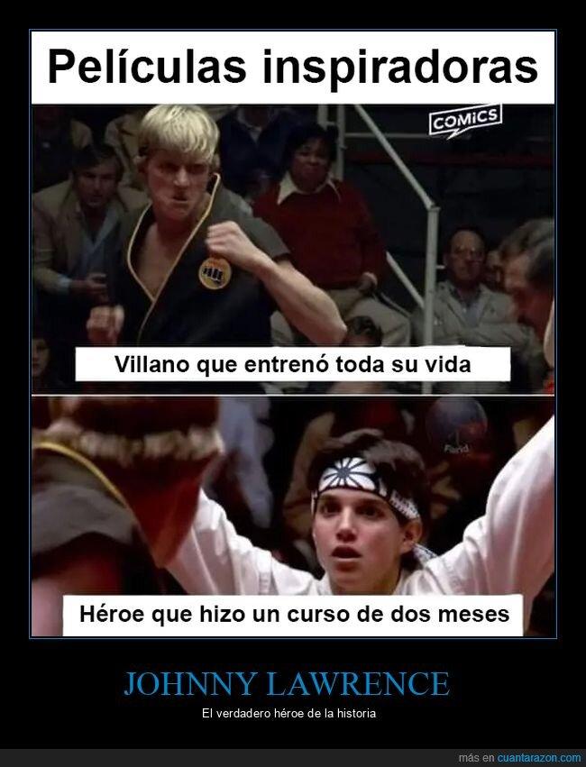 héroe,karate kid,villano