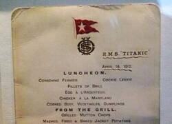 Enlace a La última cena a bordo del Titanic