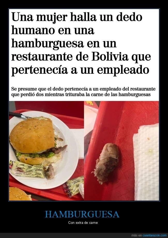dedo,hamburguesa,wtf