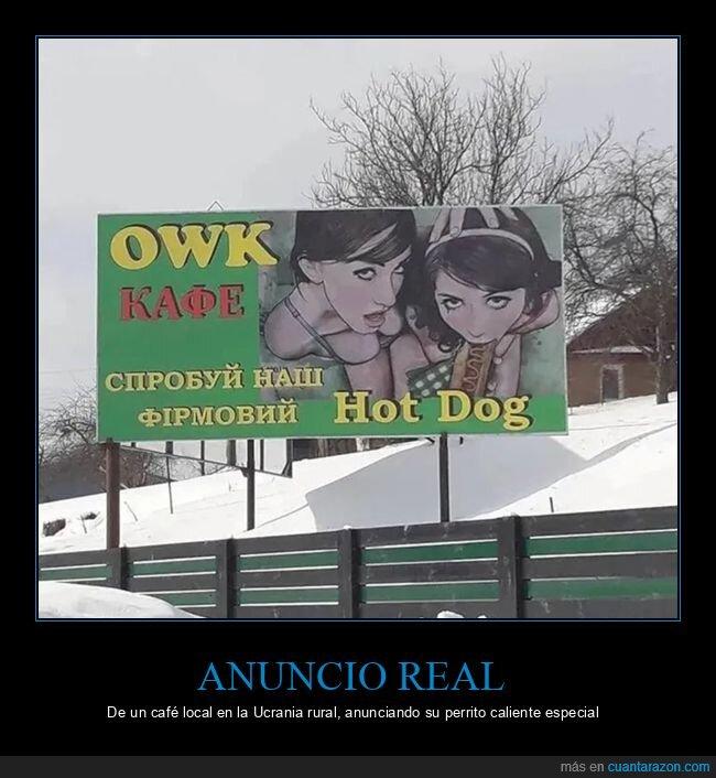 anuncios,hot dog,ucrania,wtf