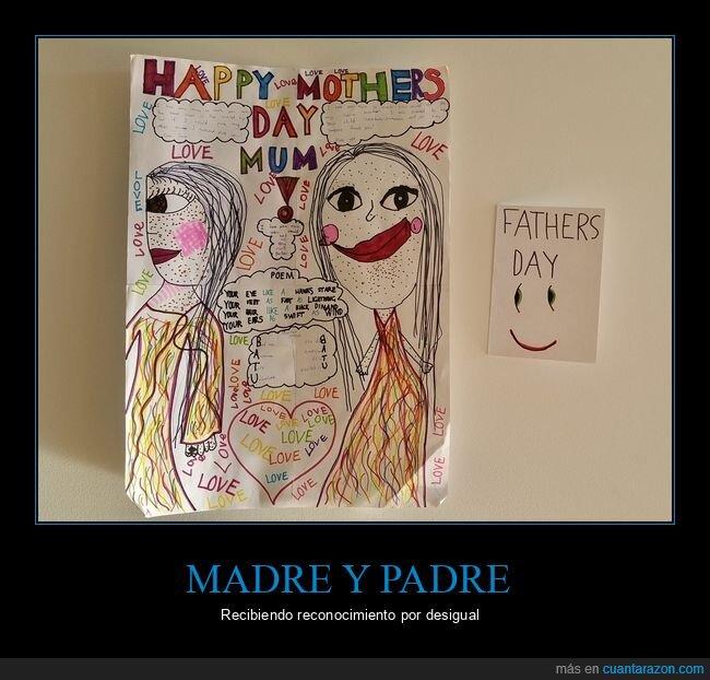 día de la madre,día del padre,dibujos,niños