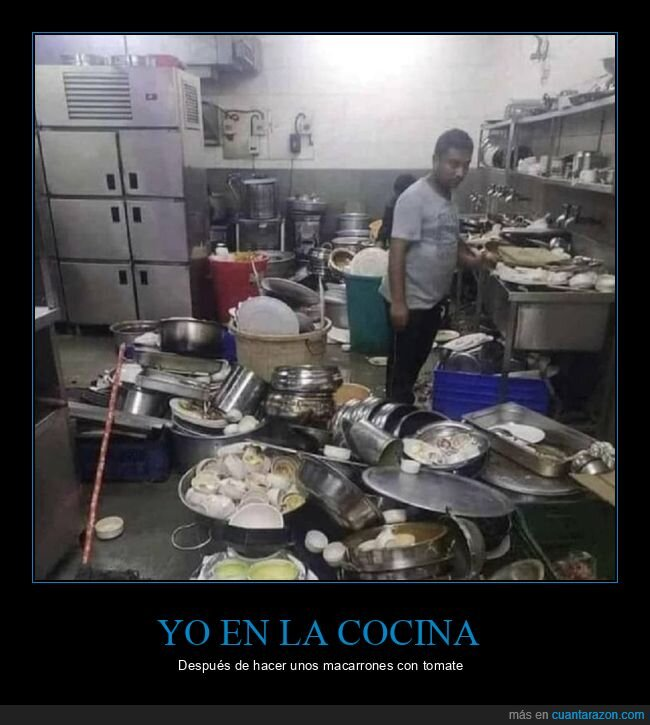 cocina,liada,wtf