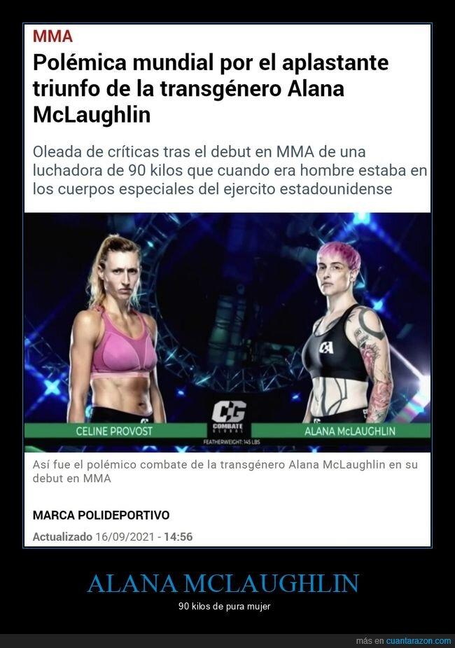 alana mclaughlin,mma,polémica,victoria