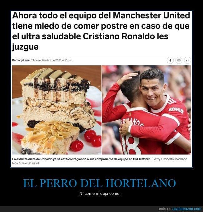 comer,cristiano ronaldo,juzgar,postre