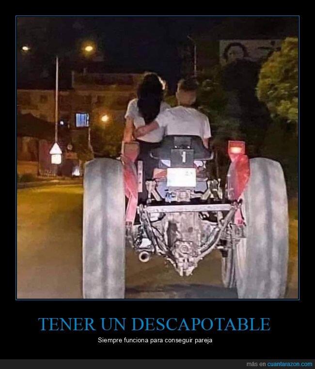 pareja,tractor