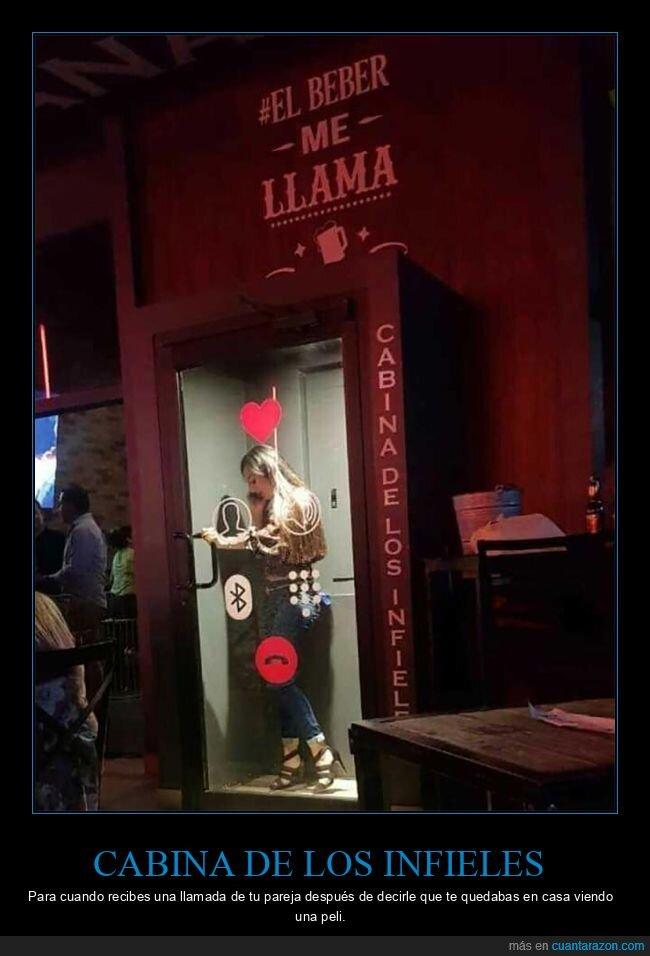 bar,cabina,infieles
