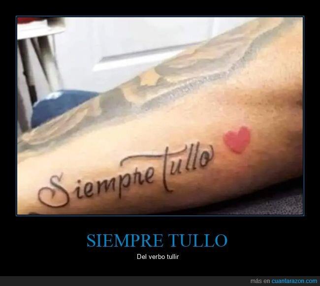 fails,ortografía,tattoo