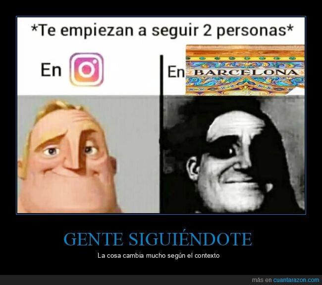 barcelona,instagram,siguiendo