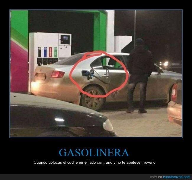 coche,gasolinera,manguera,ventanilla