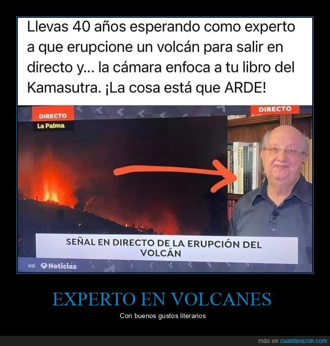 experto,libro,volcán
