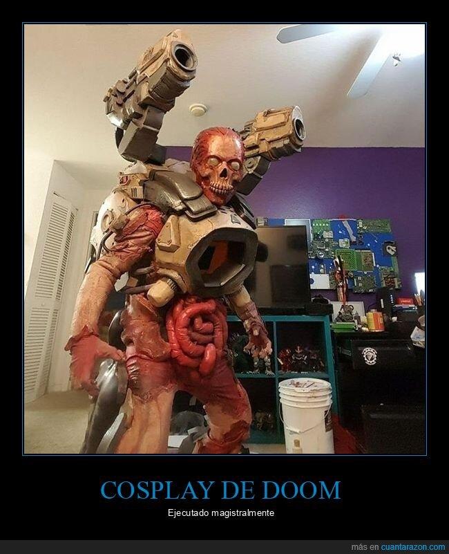 cosplay,doom