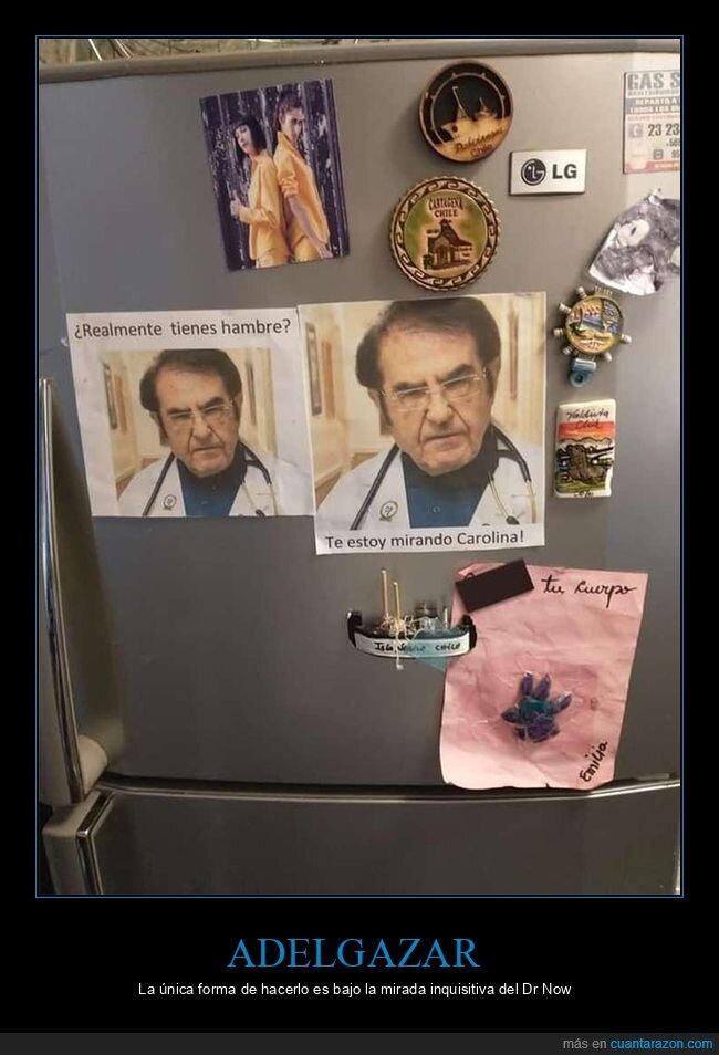 dr now,mi vida con 300 kilos,nevera