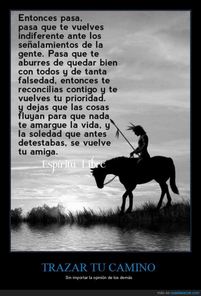 camino,espíritu,vida
