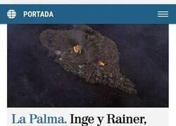 Enlace a Rodeada por la lava