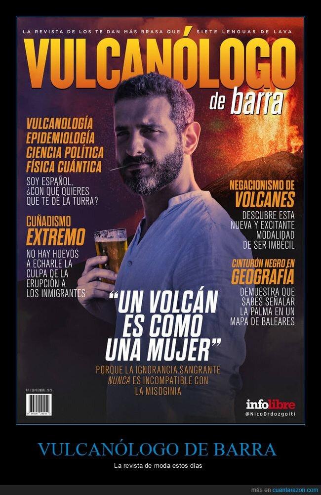 revista,vulcanólogo