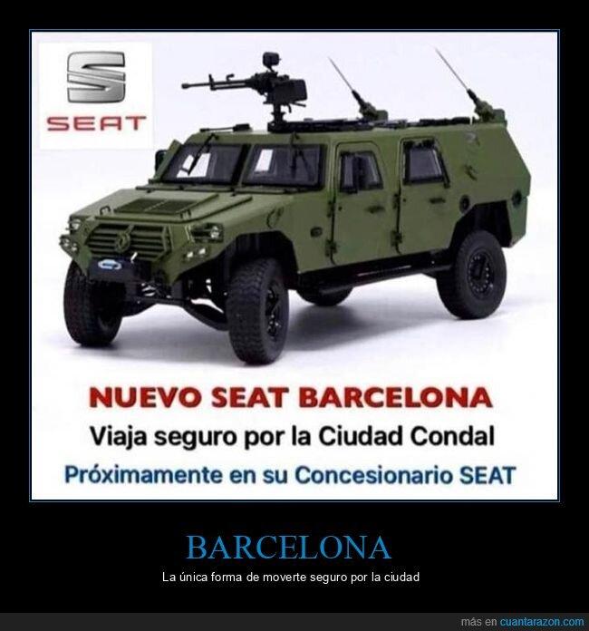 barcelona,coche,seat