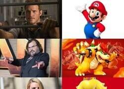 Enlace a El reparto de la próxima película de Mario