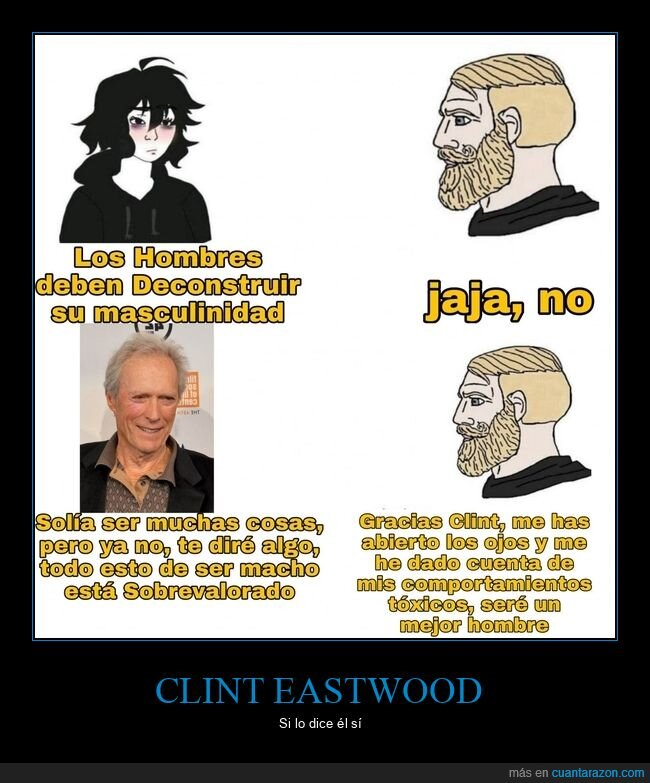 clint eastwood,deconstruir,macho,masculinidad