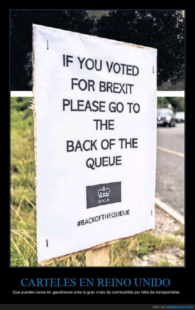 brexit,cola,gasolineras,reino unido,votar