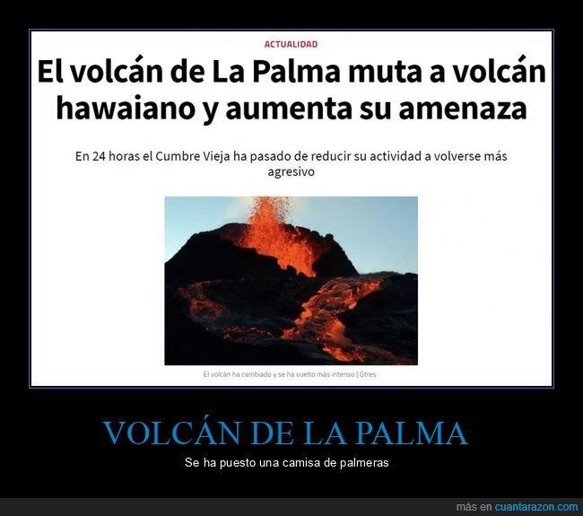 hawaiano,la palma,mutar,volcán