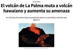 Enlace a El volcán se pone en modo hawaiano