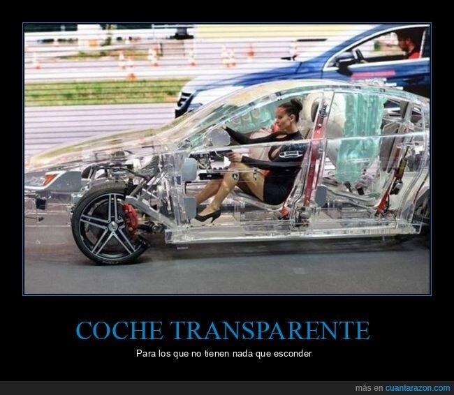 coche,transparente