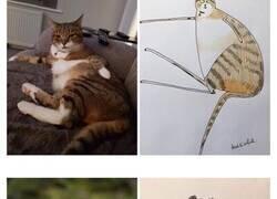 Enlace a Retratos de animales tan mal dibujados que parecen obras maestras