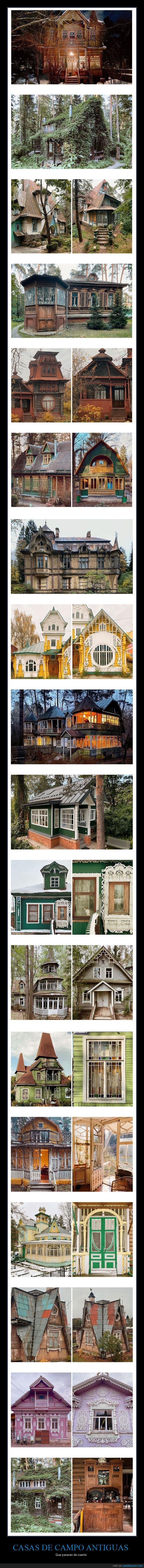 casas de campo,fotografía