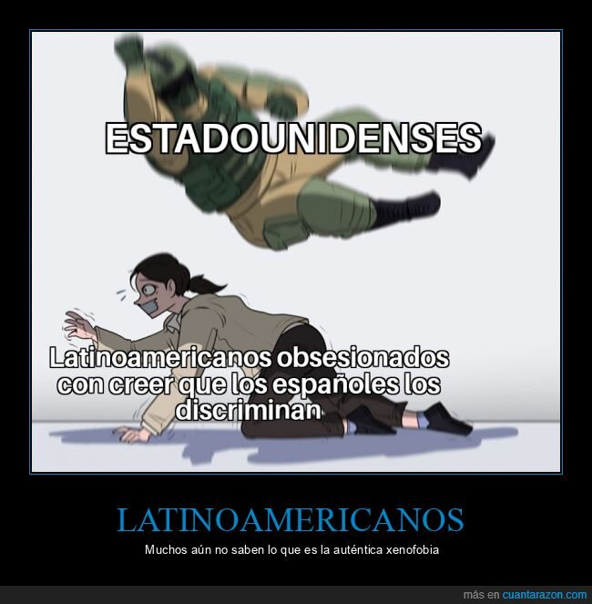 españoles,estadounidenses,latinoamericanos