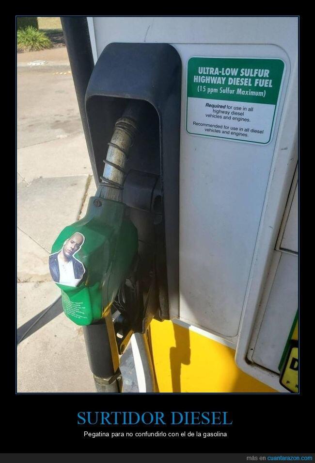 diesel,gasolinera,surtidor,vin diesel