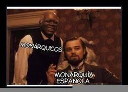Enlace a Monárquicos y monarquía