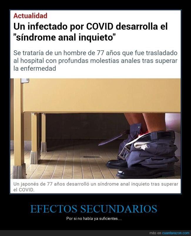 COVID,EFECTOS SECUNDARIOS