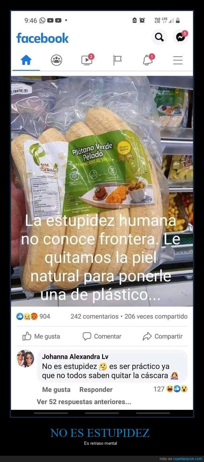 cáscara,comentarios,estupidez,monguers,plátanos