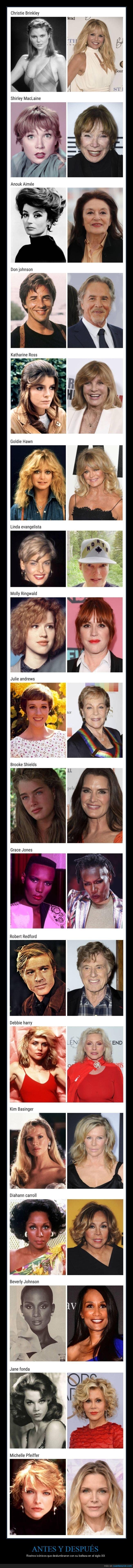 antes,después,famosos