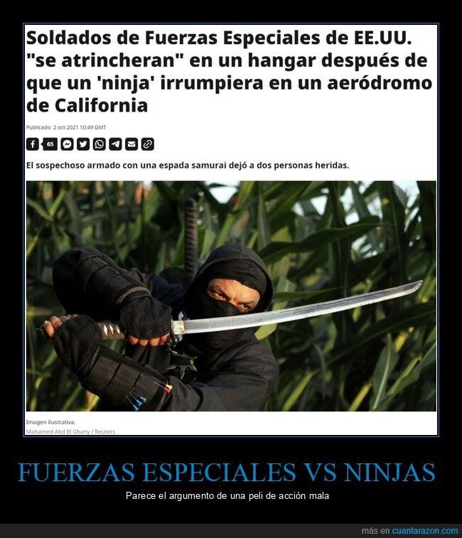 fuerzas especiales,ninja,soldados