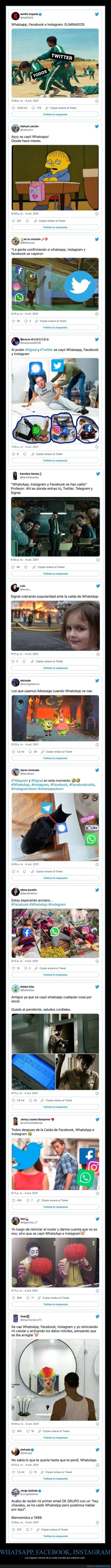 caída,facebook,instagram,whatsapp