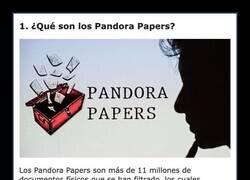 Enlace a Datos para entender el escándalo de los Pandora Papers y los famosos que están implicados