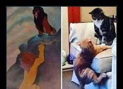Enlace a No debieron dejarles ver El Rey León