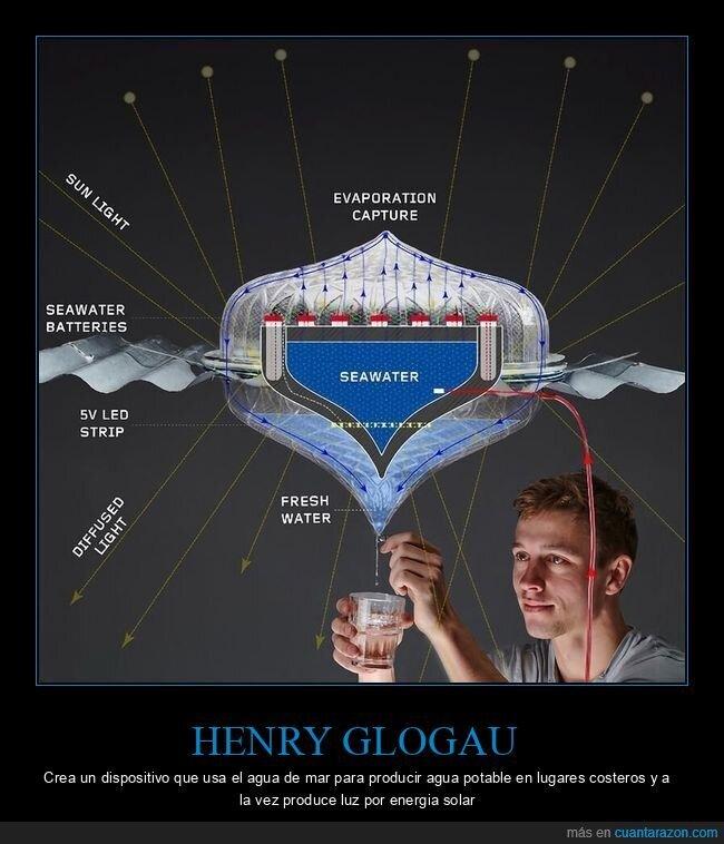 agua,henry glogau,luz