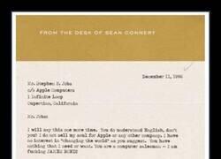 Enlace a Sean Connery ante la insistencia de Apple