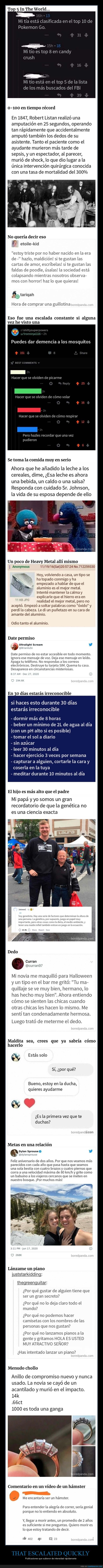 intensidad,that escalated quickly