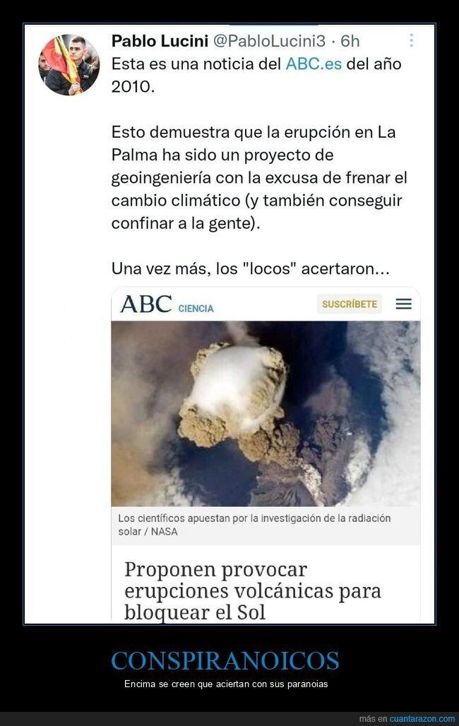 conspiranoico,la palma,volcán